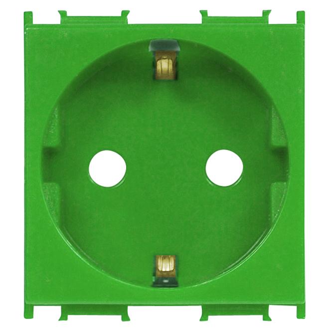 1 Stk Steckdose mit erhöhtem Berührungsschutz grün 16A ET101005--