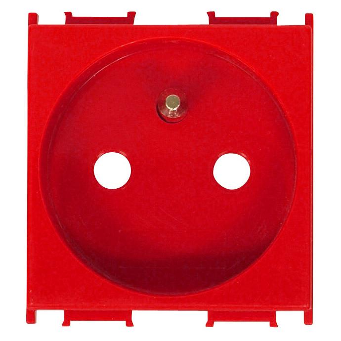 1 Stk Steckdose Erdungsstift, erhöhter Berührungsschutz rot 16A ET101008--