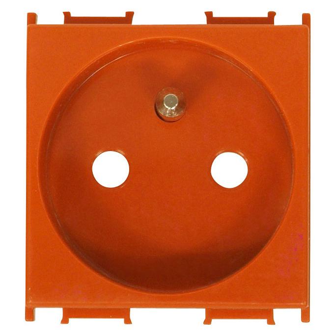 1 Stk Steckdose Erdungsstift, erhöhter Berührungsschutz orange 16A ET101009--