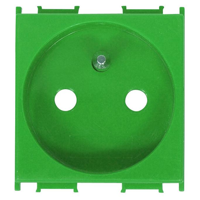 1 Stk Steckdose Erdungsstift, erhöhter Berührungsschutz grün 16A ET101010--