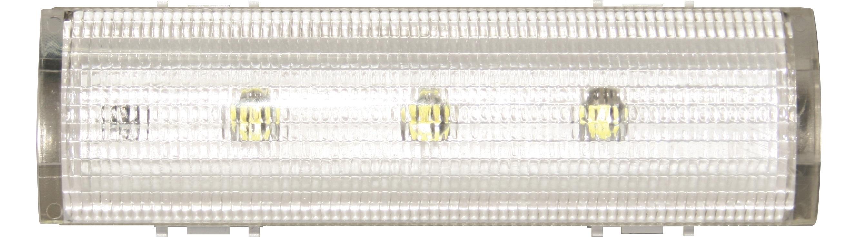 1 Stk LED-Akkulicht für UP-Montage, 6h Akku, 250V 1,5W NiMh 6h 7M ET103013--