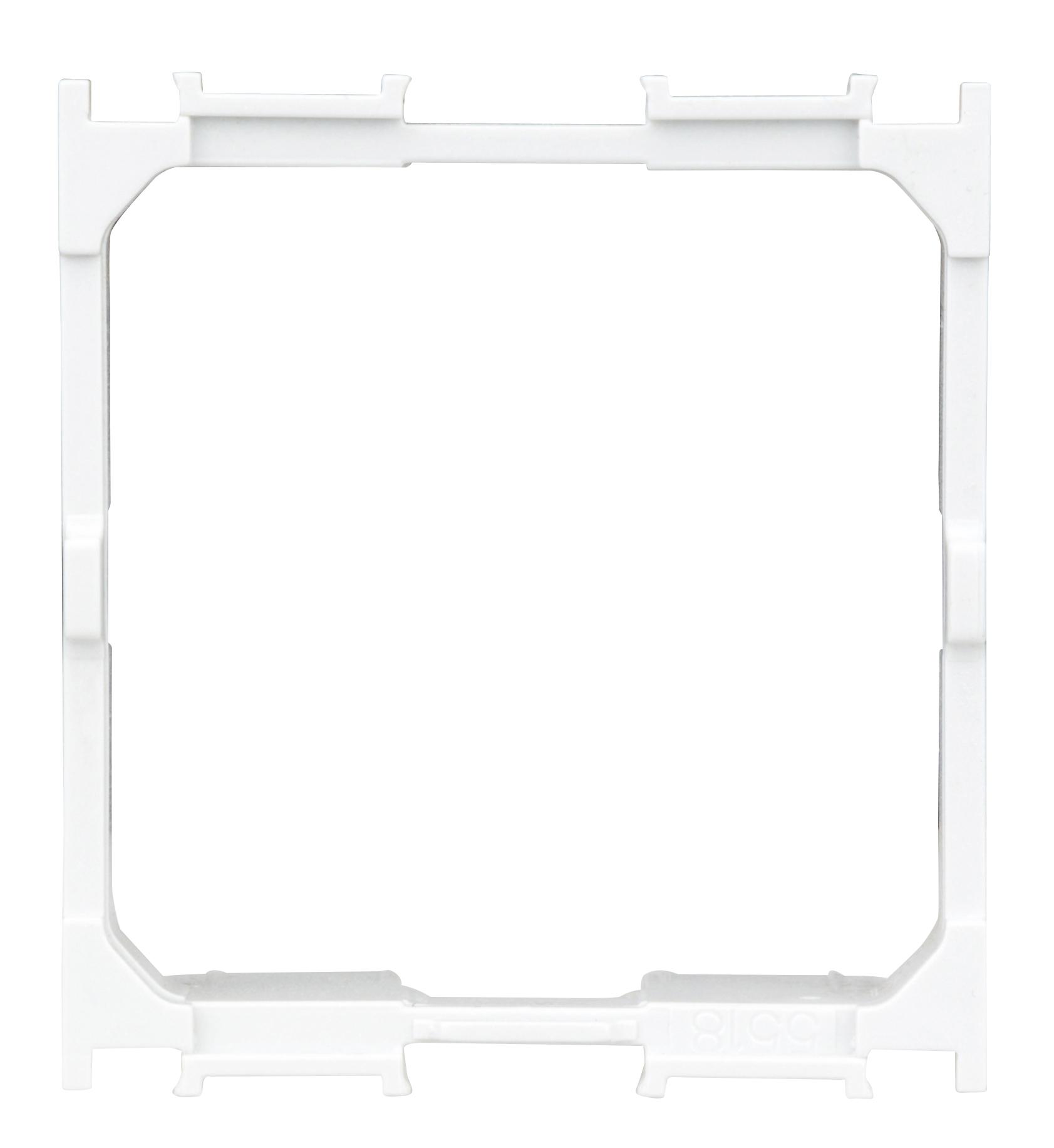 1 Stk Adapter Zentralplatte 2-fach Toolless line HSEMD02W2F ET105083--