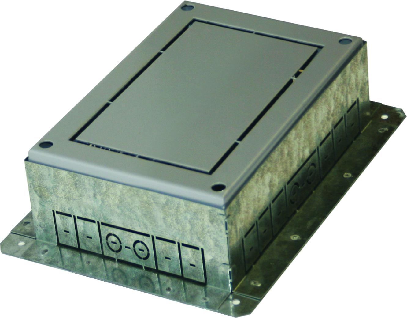 1 Stk Einbaubox für Bodendose MT7 ET108001--, 270x360x95-125mm  ET1080011-