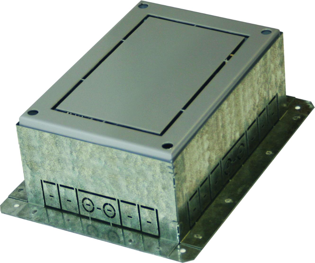 1 Stk Einbaubox für Bodendose MT 7 ET108002--, 270x360x120-150mm ET1080021-