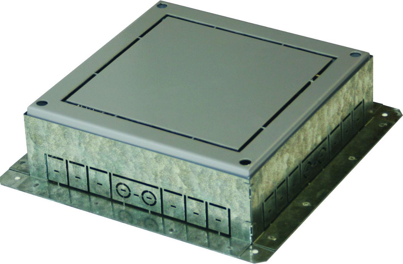 1 Stk Einbaubox für Bodendose MT 14 ET108003--, 360x360x95-125mm ET1080031-