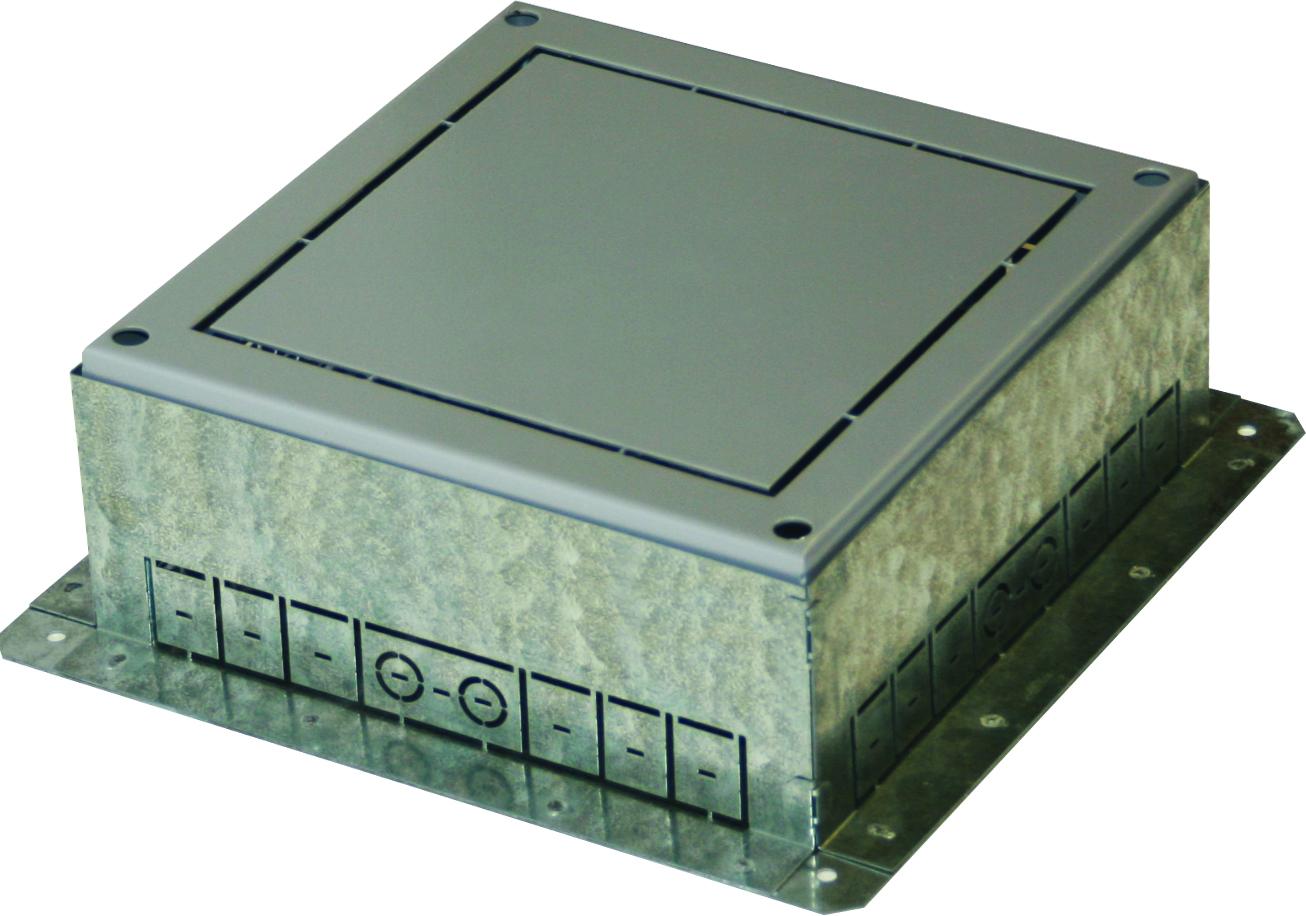 1 Stk Einbaubox für Bodendose MT 14 ET108004--, 360x360x120-150mm ET1080041-