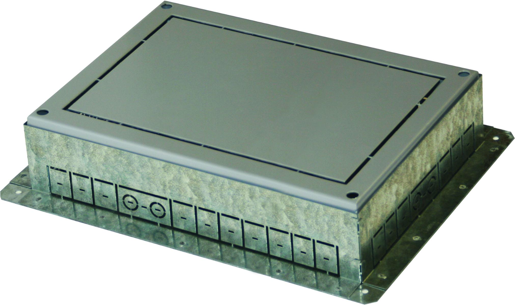 1 Stk Einbaubox für Bodendose MT 21 ET108005--, 450x360x95-125mm ET1080051-