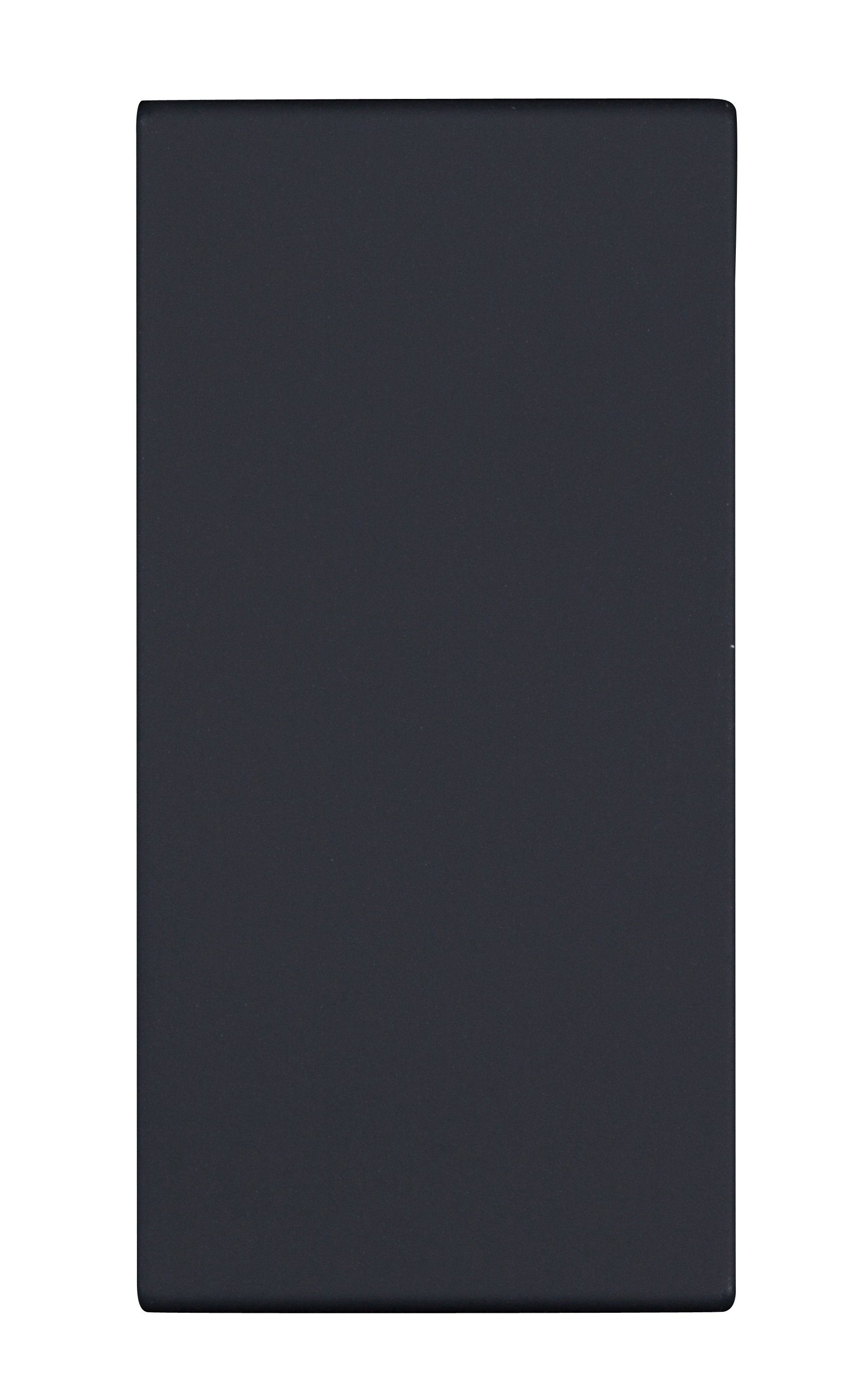 1 Stk Schalterabdeckung 1M, schwarz ET112001--