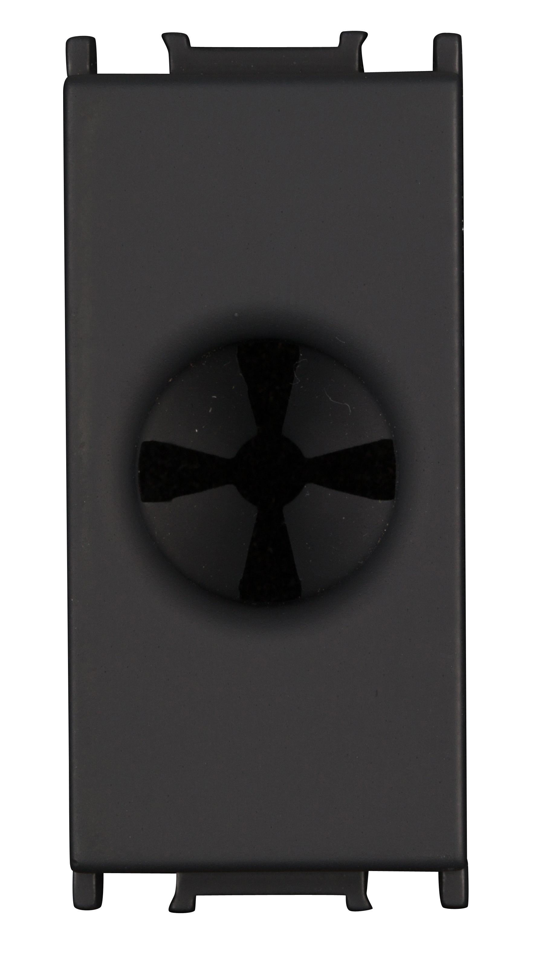 1 Stk Kabeleinführung 1M, schwarz ET112014--