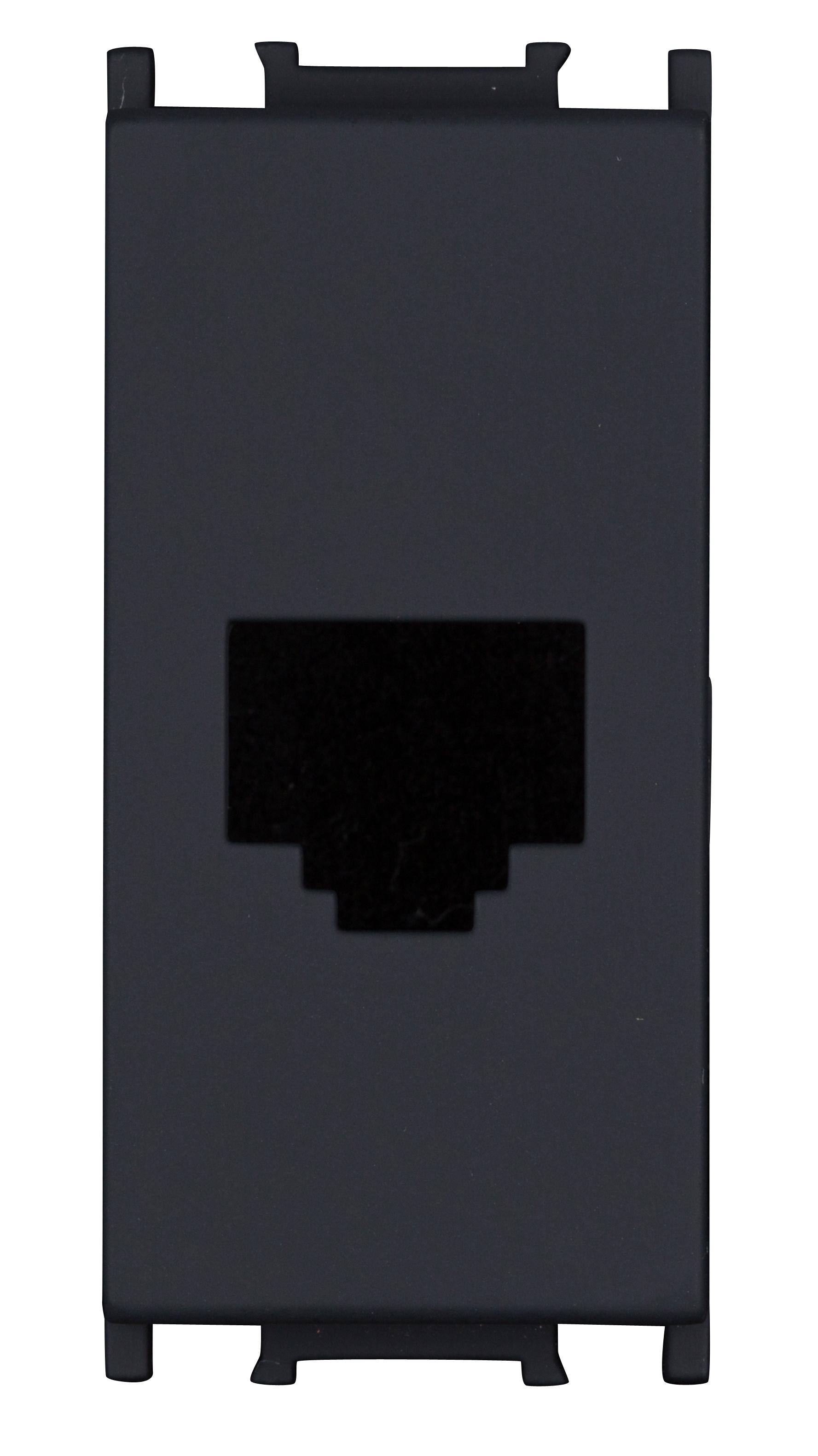 1 Stk Abdeckung Toolless Line 1M, schwarz ET112017--