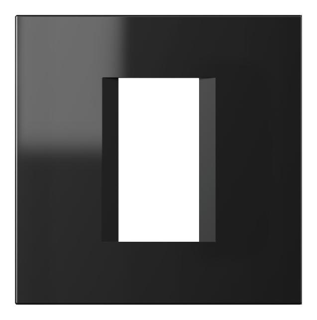 1 Stk Rahmen 1/2M, schwarz ET115010--