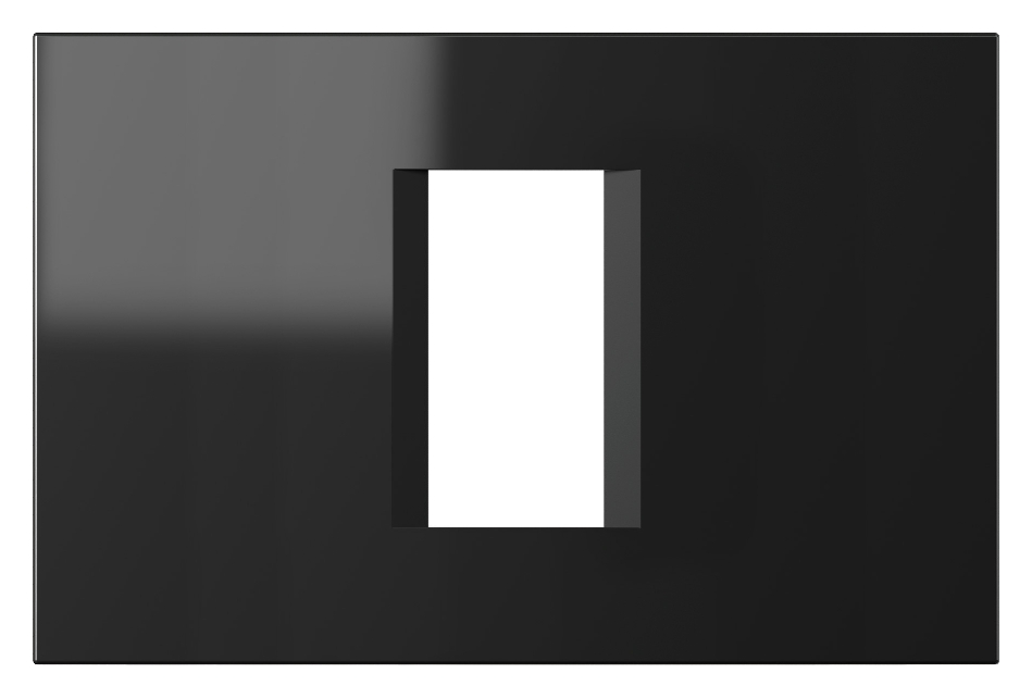 1 Stk Rahmen 1/3M, schwarz ET115012--