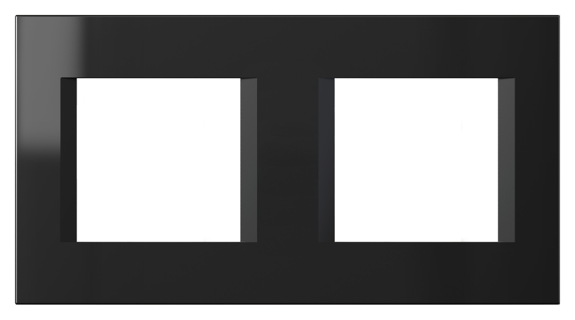 1 Stk Rahmen 2x2M, schwarz ET115018--