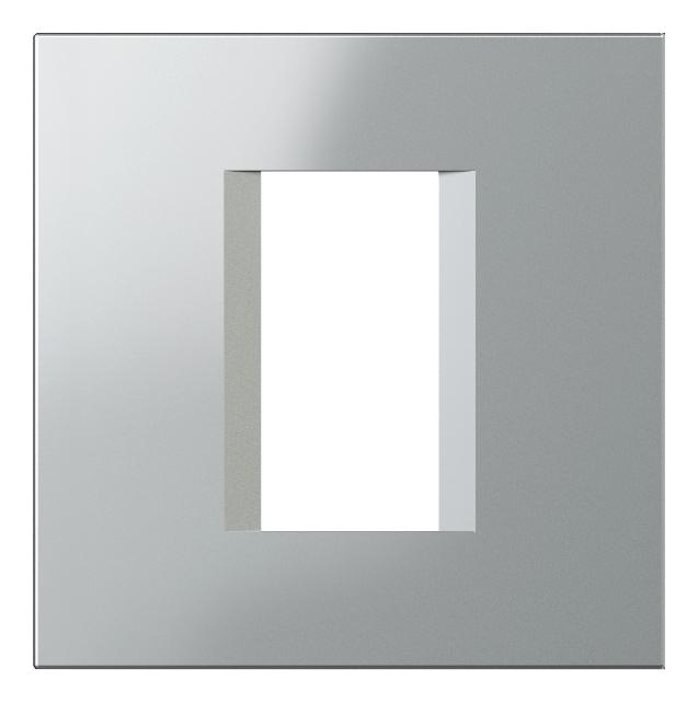 1 Stk Rahmen 1/2M, silber ET135010--