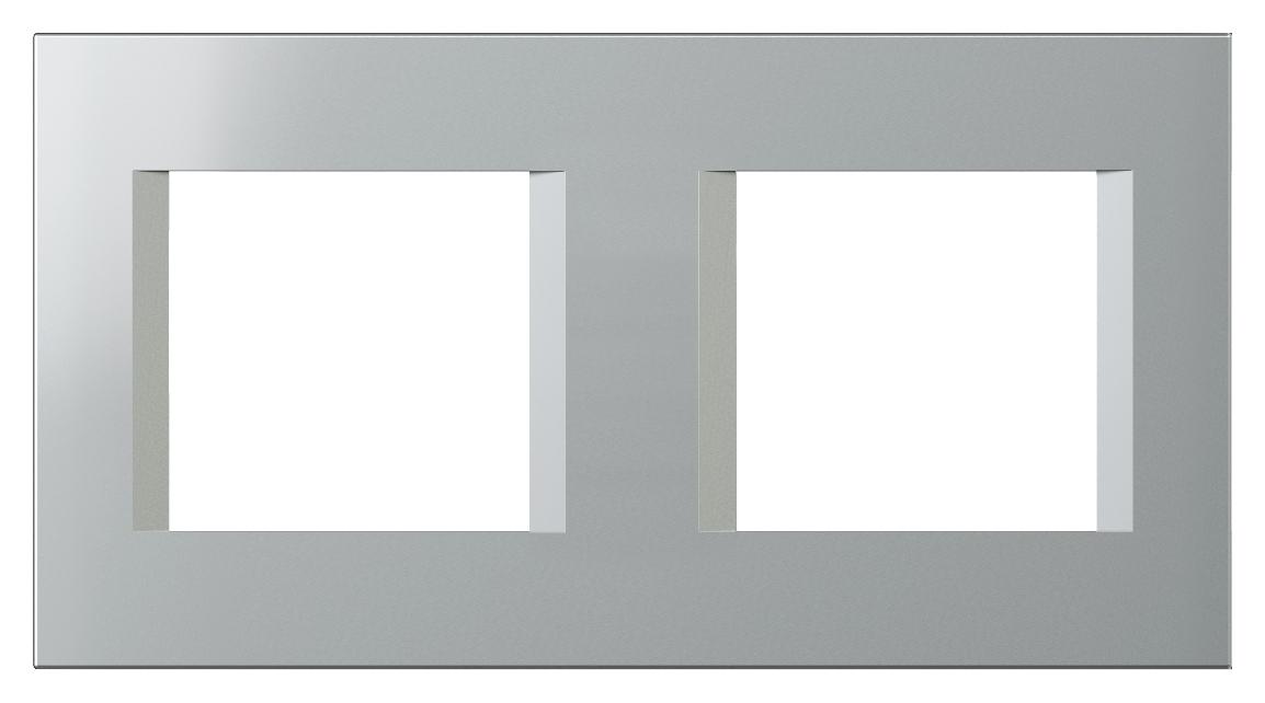 1 Stk Rahmen 2x2M, silber ET135018--
