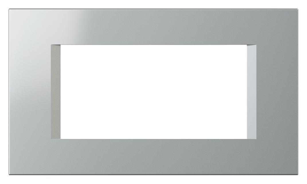 1 Stk Rahmen 4M, silber ET135026--