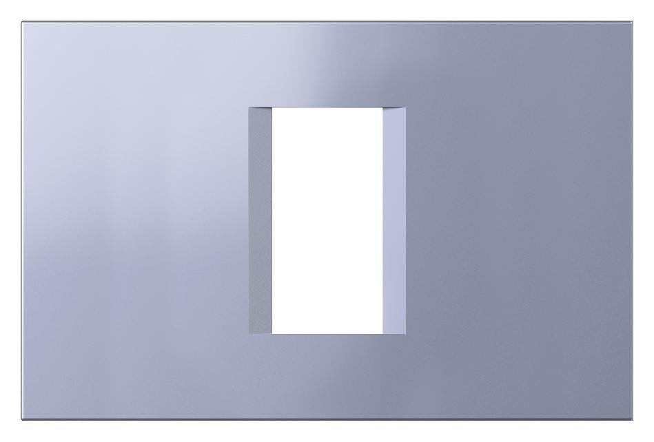 1 Stk Rahmen 1/3M, impulse blau ET145012IB