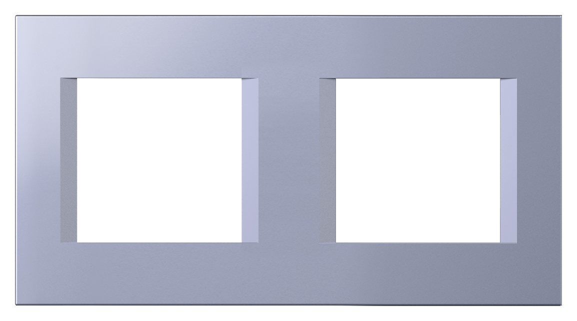 1 Stk Rahmen 2x2M, impulse blau ET145018IB