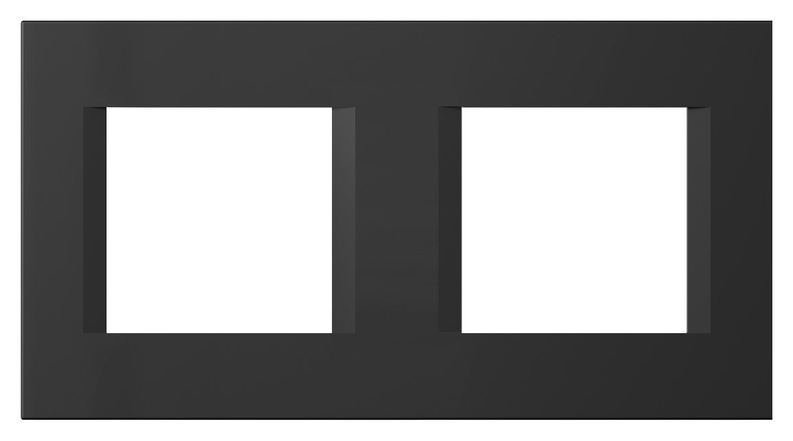 1 Stk Rahmen 2x2M, schwarz matt ET145018SM