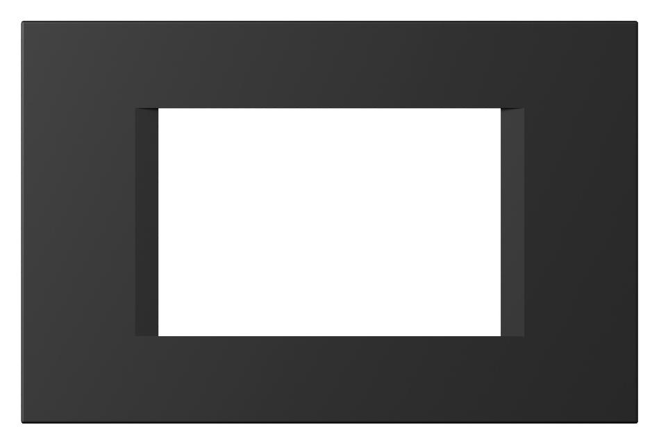 1 Stk Rahmen 3M, schwarz matt ET145024SM