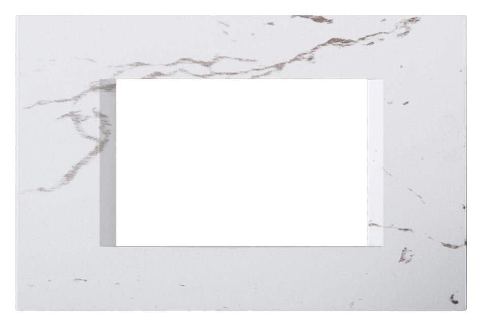 1 Stk Rahmen 3M, steinweiß ET145024SW