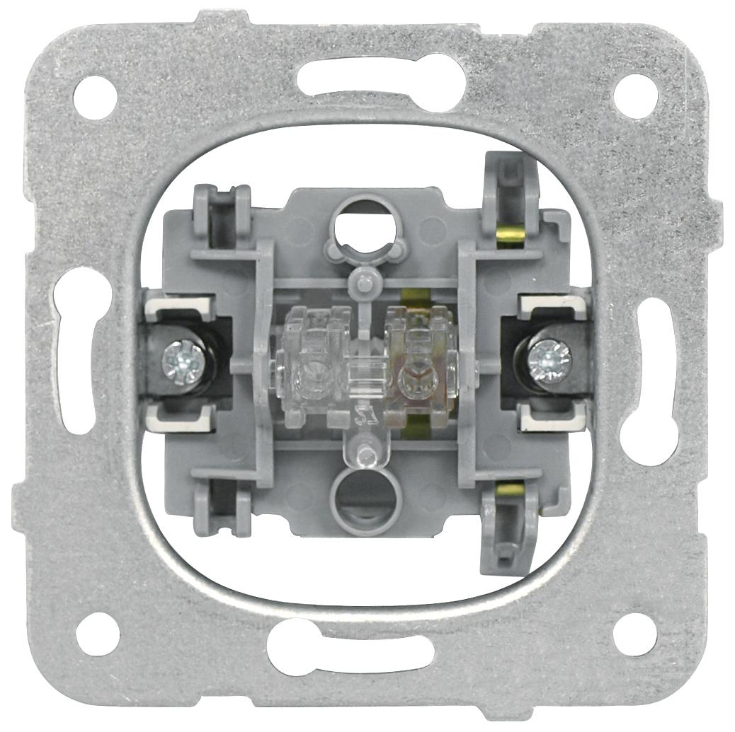 1 Stk Ausschalter-Einsatz, 1-polig, Steckklemmen EV100001--