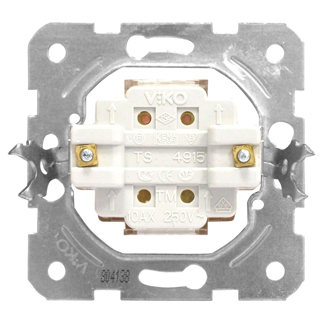 1 Stk Ausschalter-Einsatz, 2-polig, Schraubklemmen EV100006--