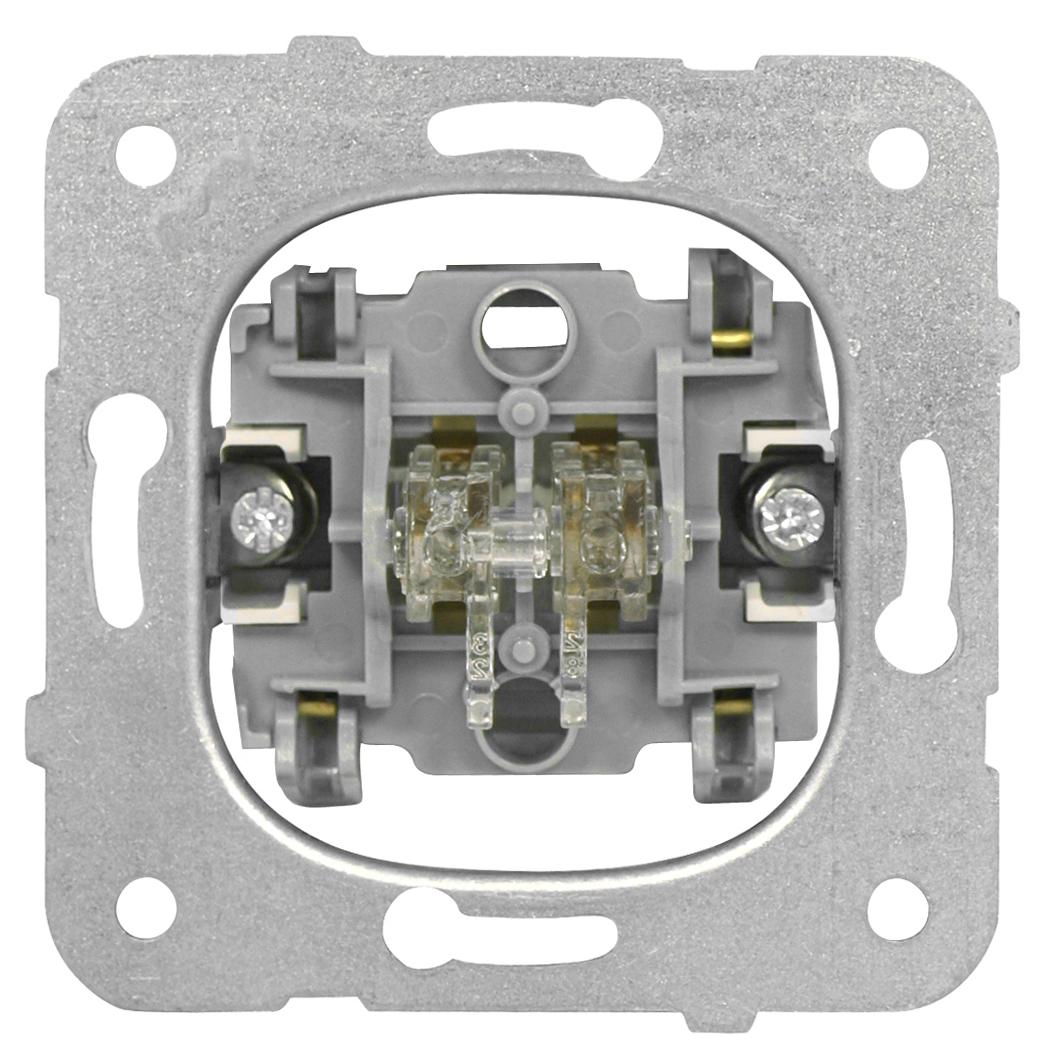 1 Stk Serienschalter-Einsatz, Steckklemme EV100009--