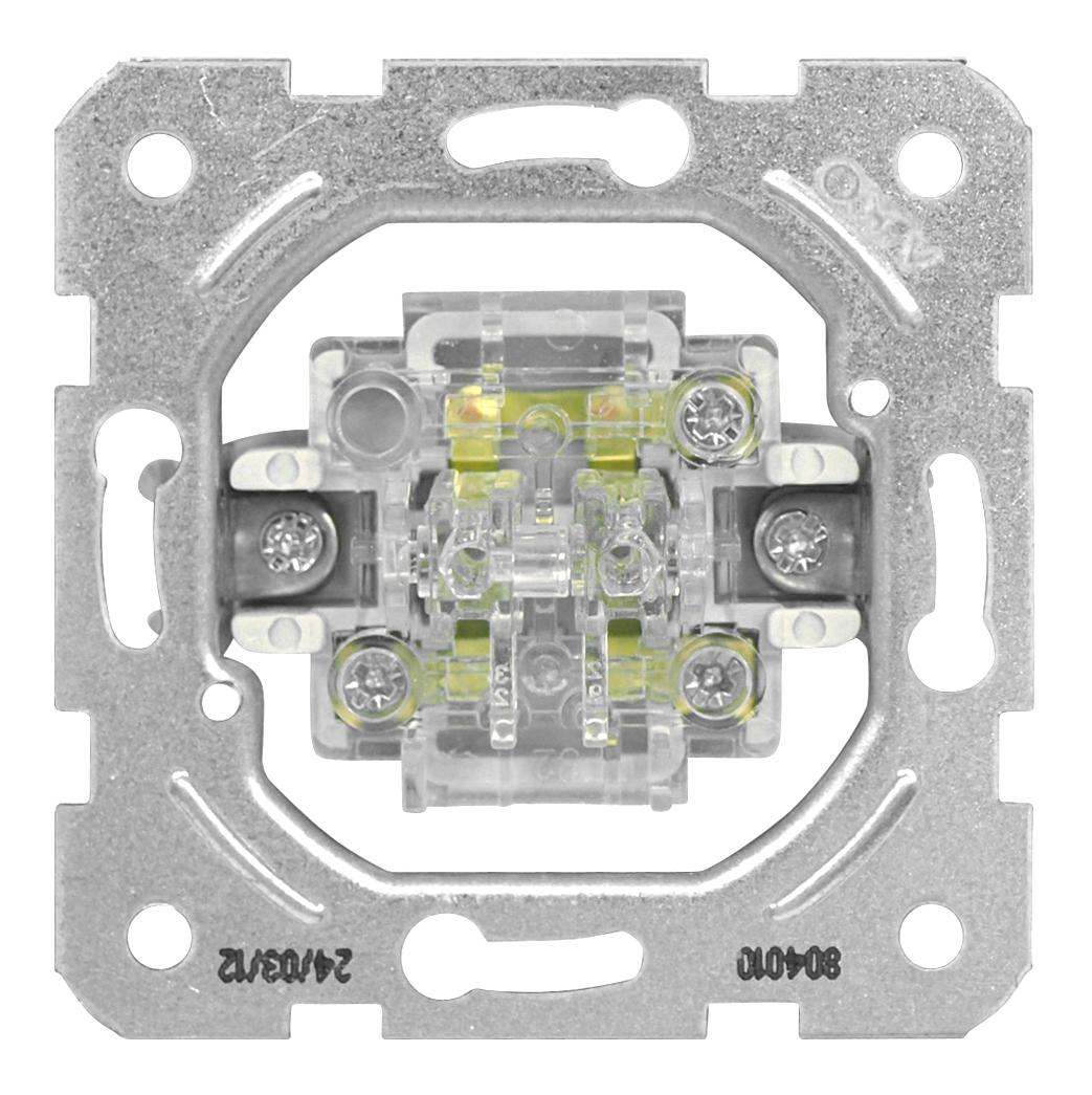 1 Stk Serienschalter-Einsatz, Schraubklemmen EV100010--