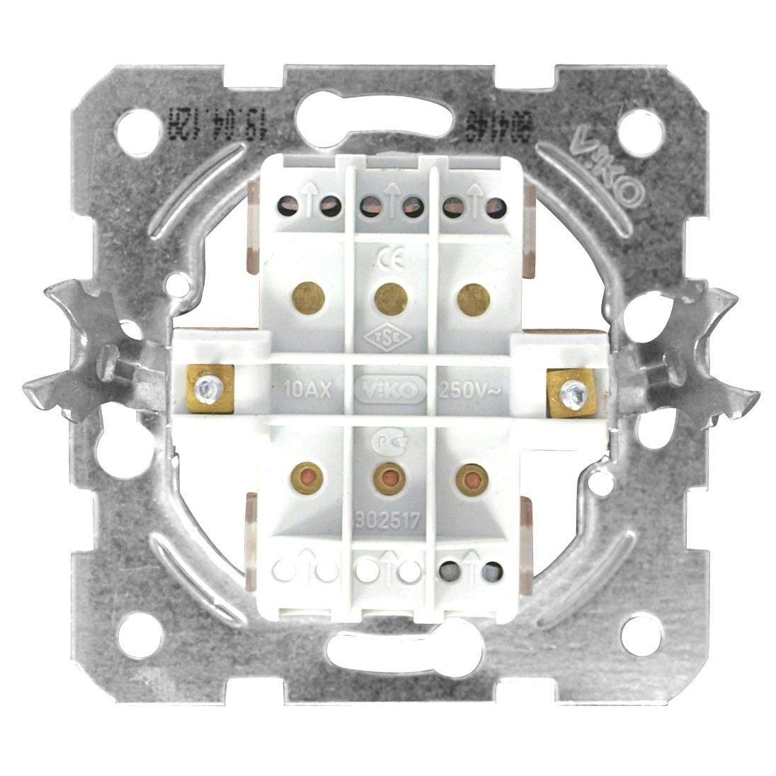 1 Stk Ausschalter, 3fach, Schraubklemmen EV100016--
