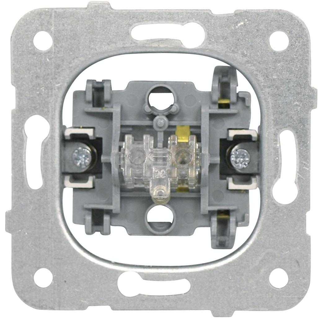 1 Stk Taster-Einsatz, Schließer, Steckklemme EV100019--