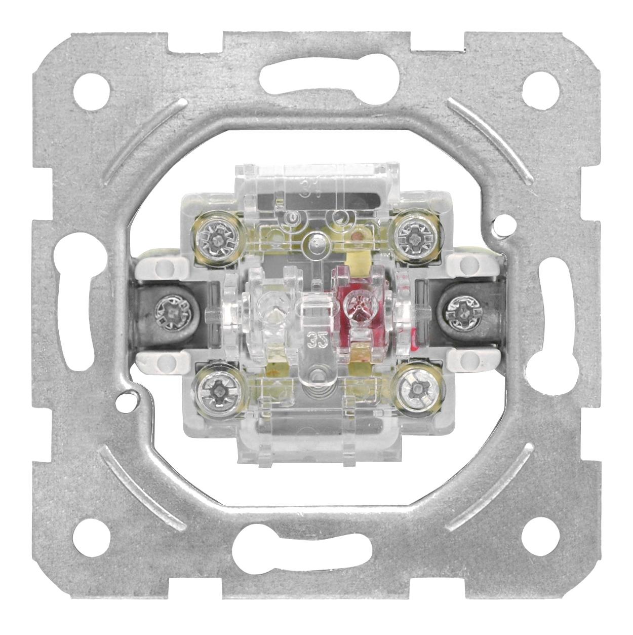 1 Stk Taster-Einsatz, Wechsler, Schraubklemmen EV100022--