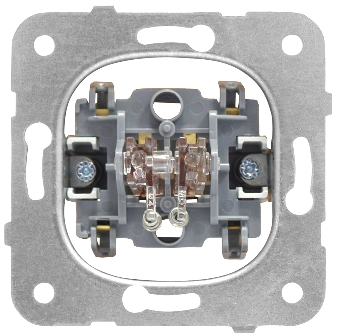 1 Stk Doppeltaster-Einsatz, Schließer, getrennte Strombahnen EV100023--