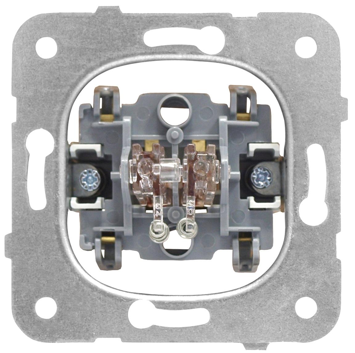 1 Stk Jalousieschalter-Einsatz, Steckklemmen EV100025--
