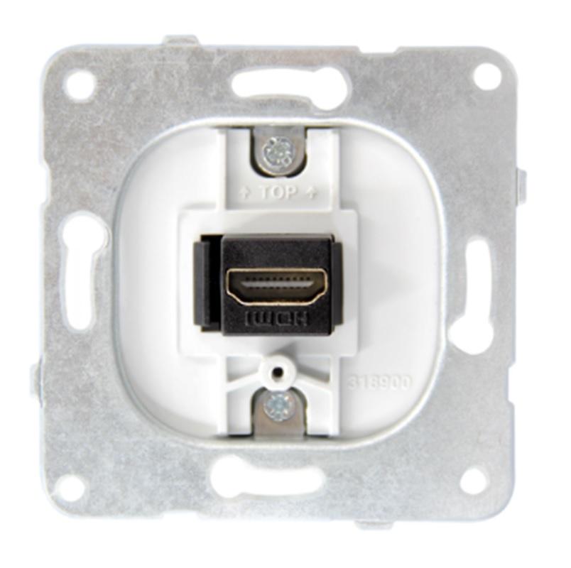1 Stk HDMI Einsatz EV104050--