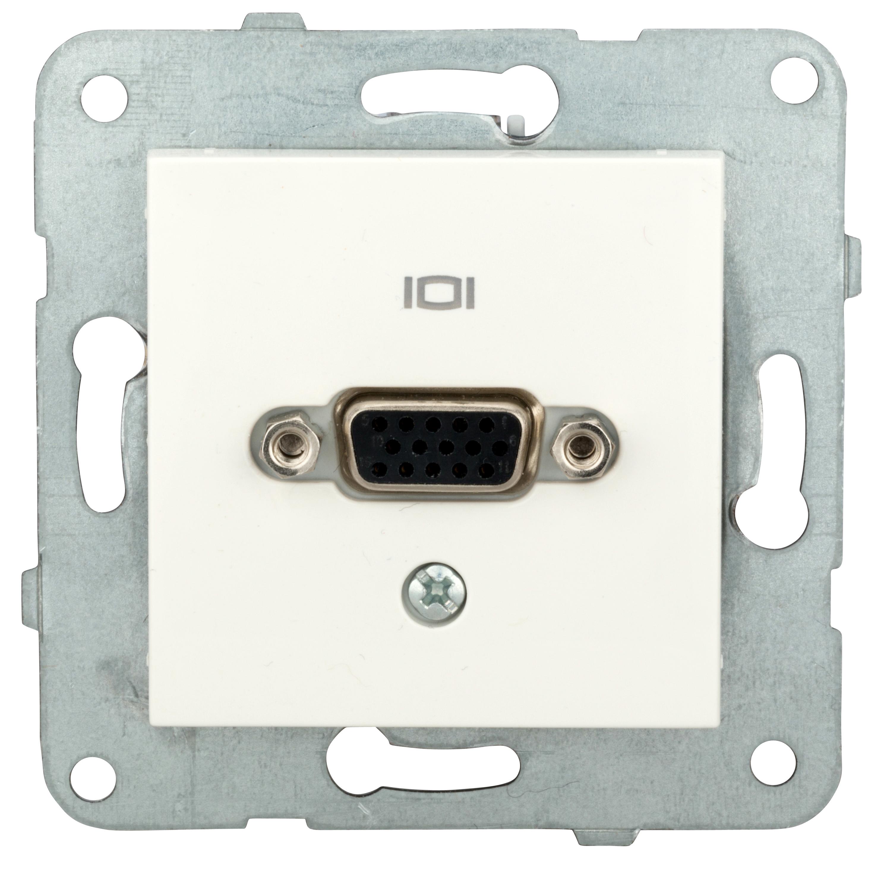 1 Stk VGA Einsatz mit Schraubanschluss EV104053--