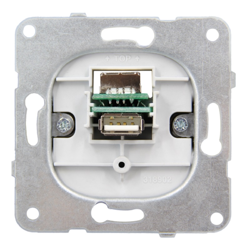1 Stk USB Einsatz EV104055--