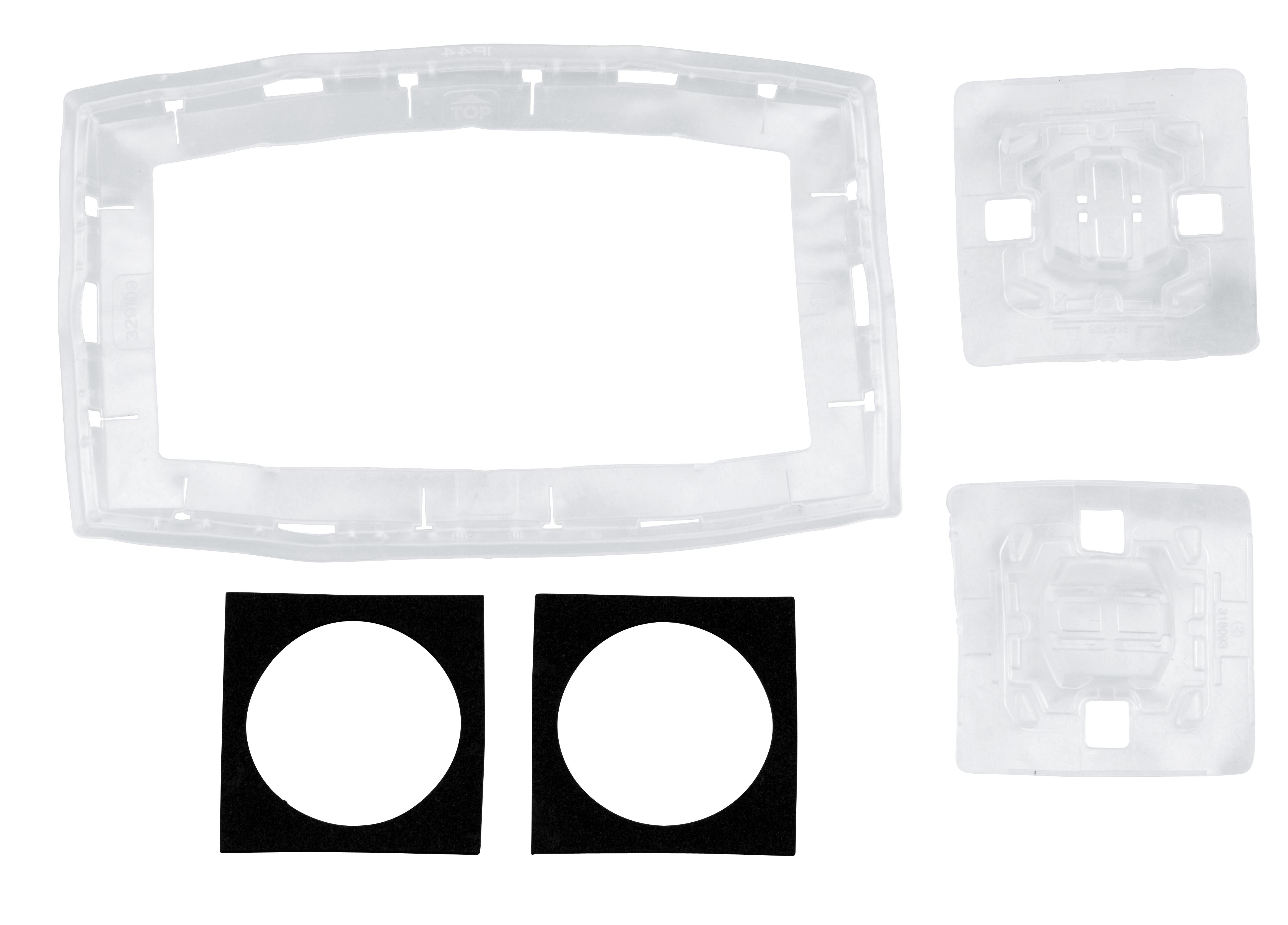 1 Stk Dichtungsset 2-fach für Schalter und Steckdosen, IP44 EV107005--
