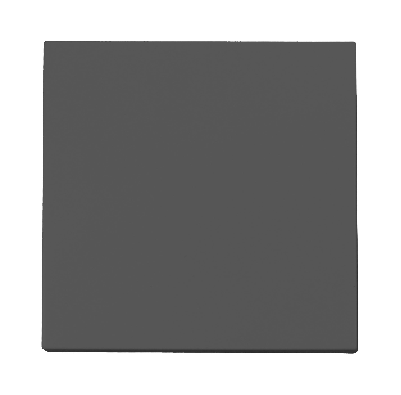 1 Stk Blindabdeckung, anthrazit EV112015--