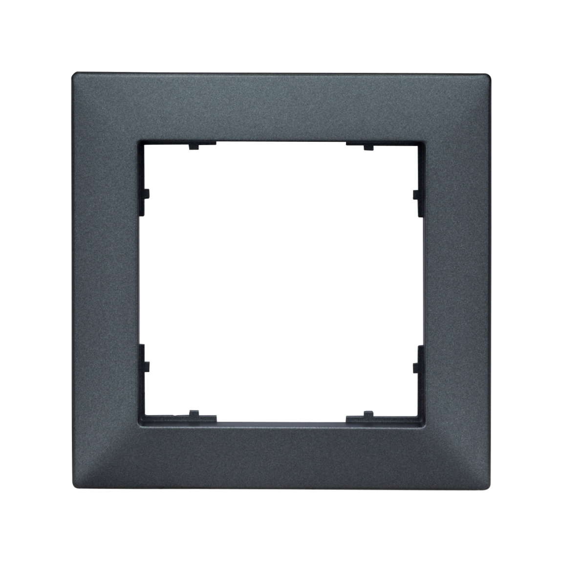 1 Stk Rahmen 55x55mm, 1-fach, anthrazit EV115021--