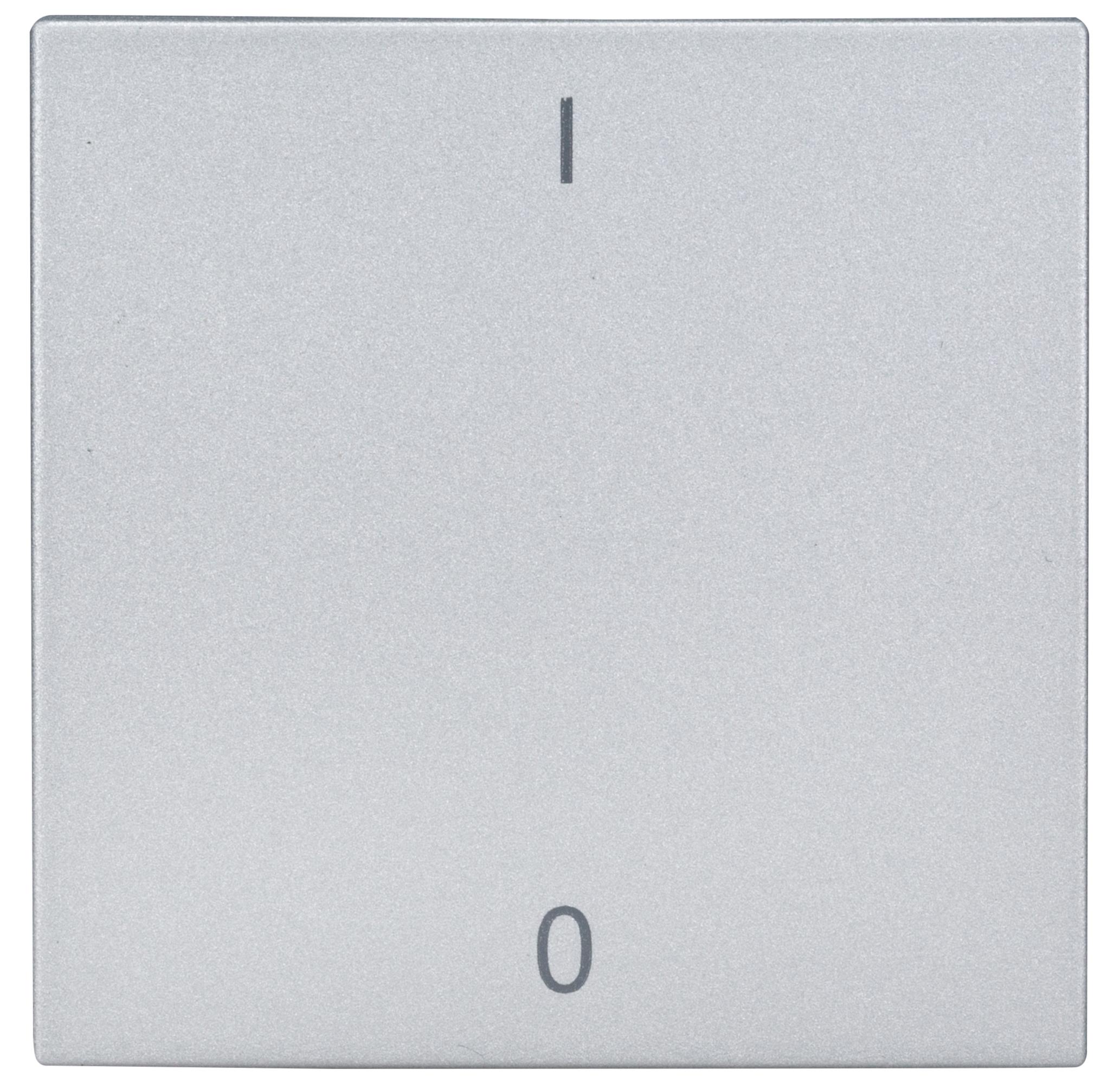 1 Stk Wippe mit Symbol EIN/AUS, Silber EV122017--