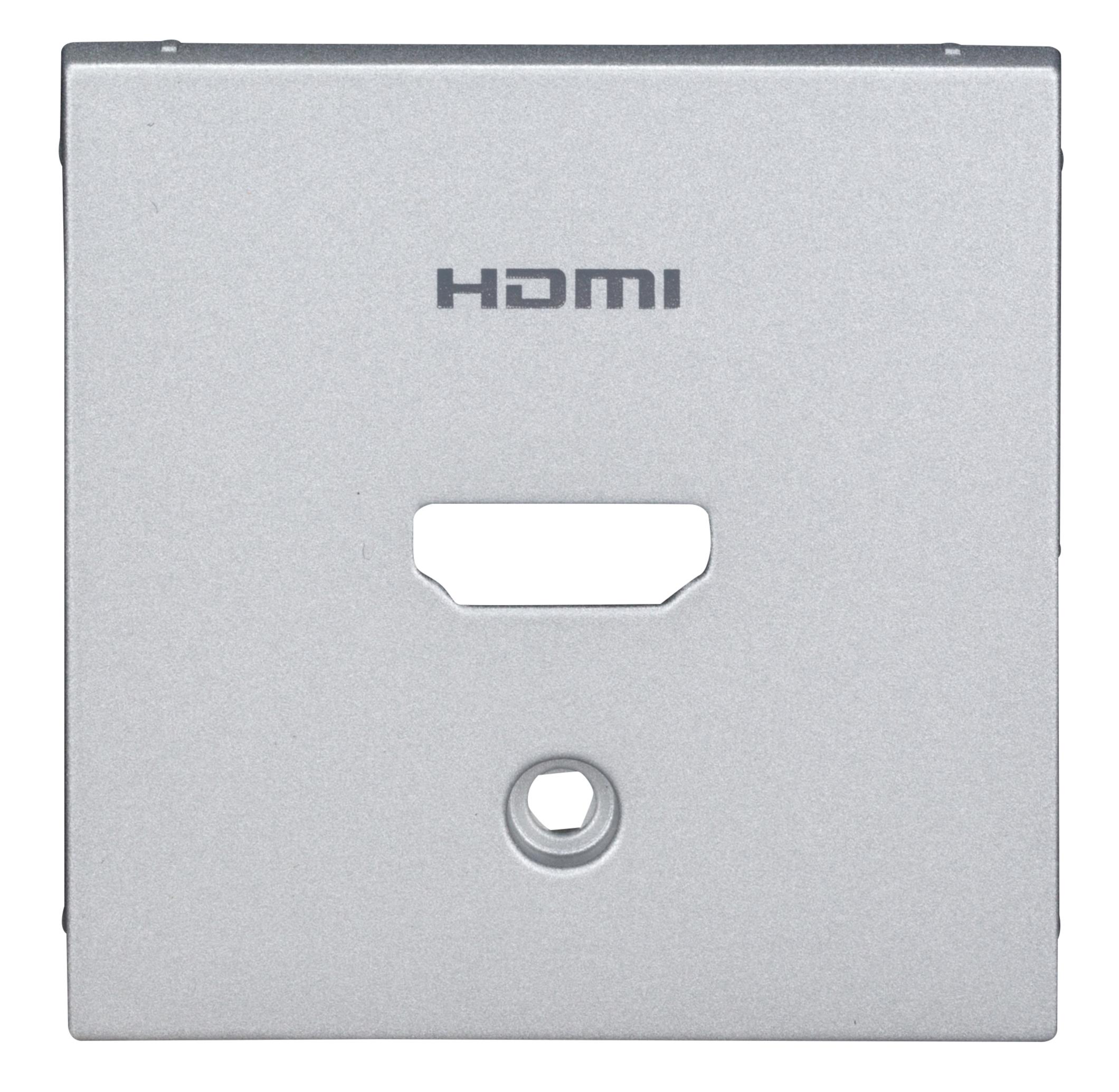 1 Stk HDMI Aufsatz, silber EV124051--
