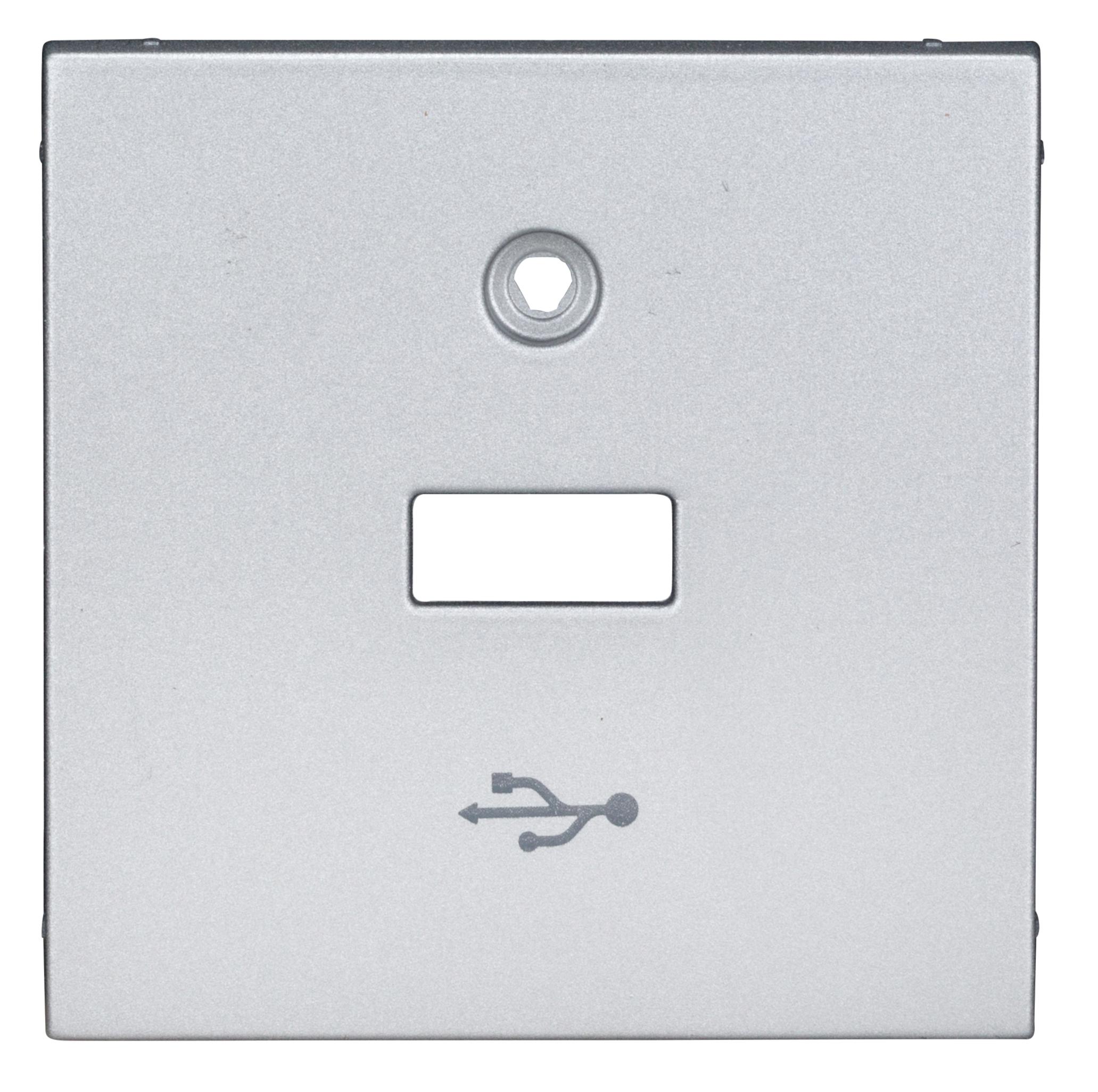1 Stk USB Aufsatz, silber EV124056--