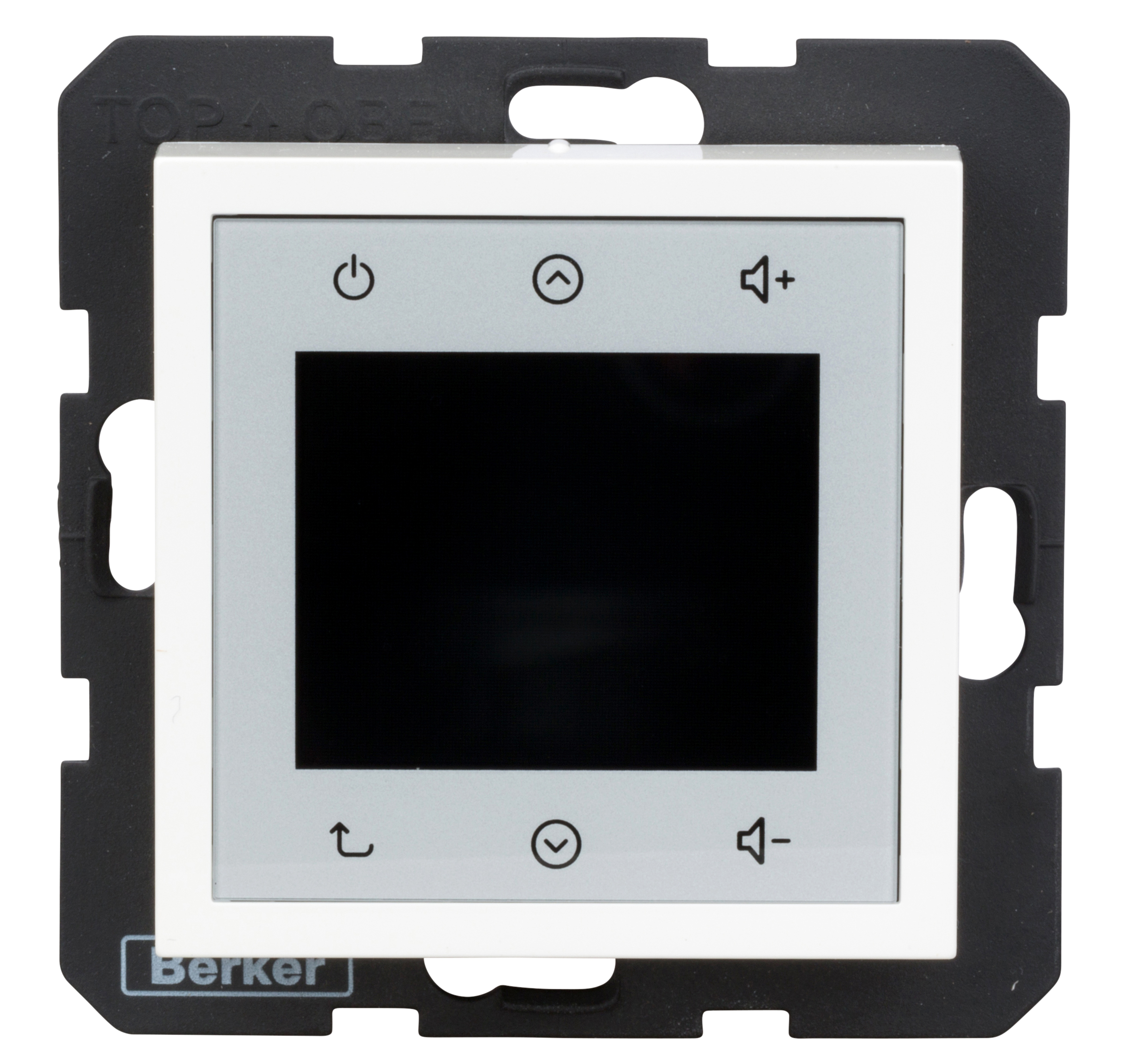 1 Stk UP Radio Touch mit Lautsprecher, polarweiß glänzend EV28808989