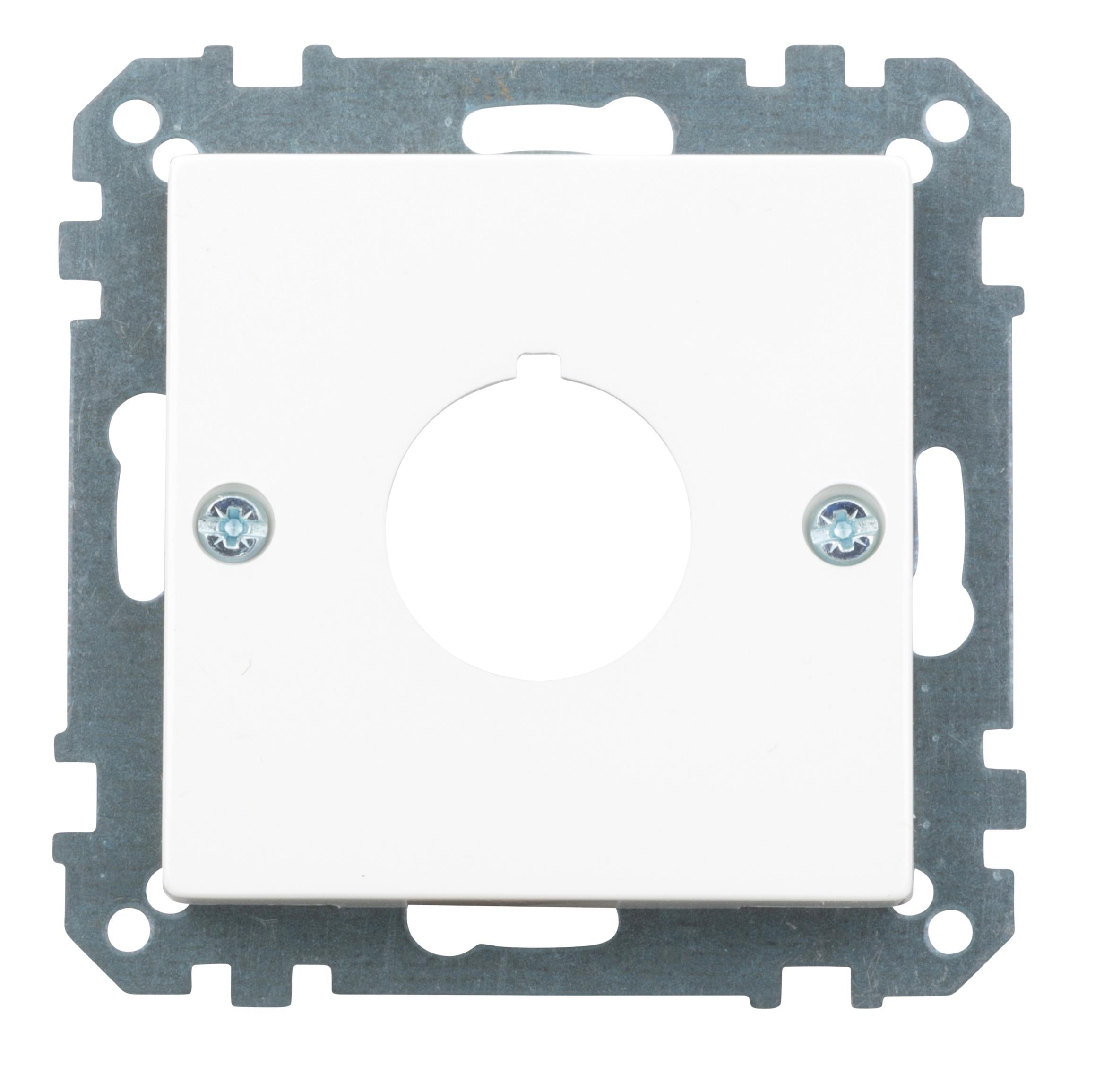 1 Stk Zentralplatte für Befehls- und Meldegeräte,²22,5 mm EV393819--