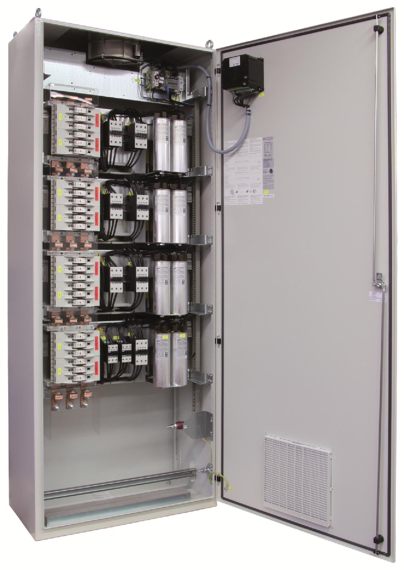 1 Stk Kompensation LSFC 7% 93,75/6,25kvar 600x2000x400mm FR3422653-