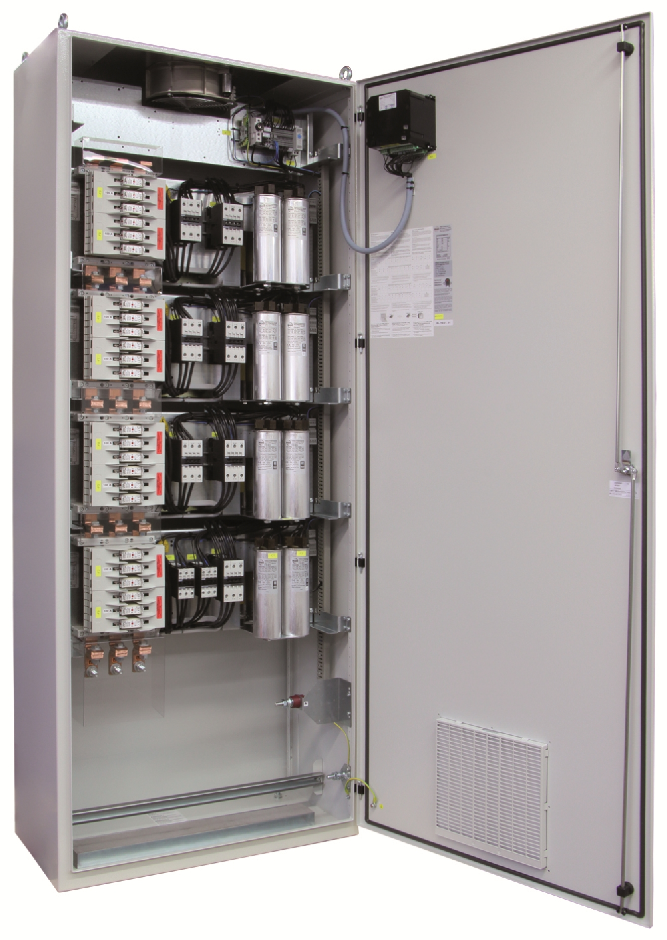 1 Stk Kompensation LSFC 7% 125/12,5kvar 800x2000x400mm FR3422667-