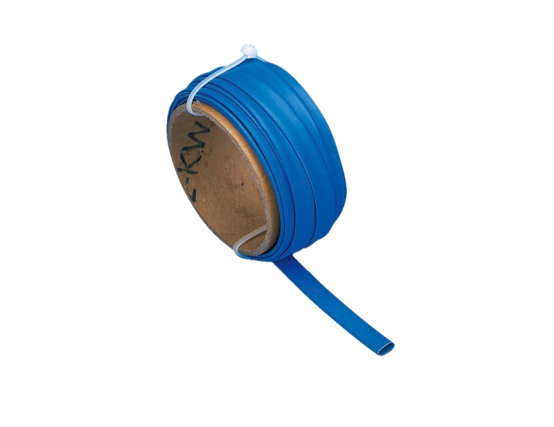 5 m Wärmeschrumpfschlauch 6,4mm Blau, 5m GI064061--