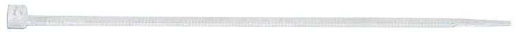 100 Stk Kabelbinder mit Kunststoffzunge natur 2,5x100mm GI50211090
