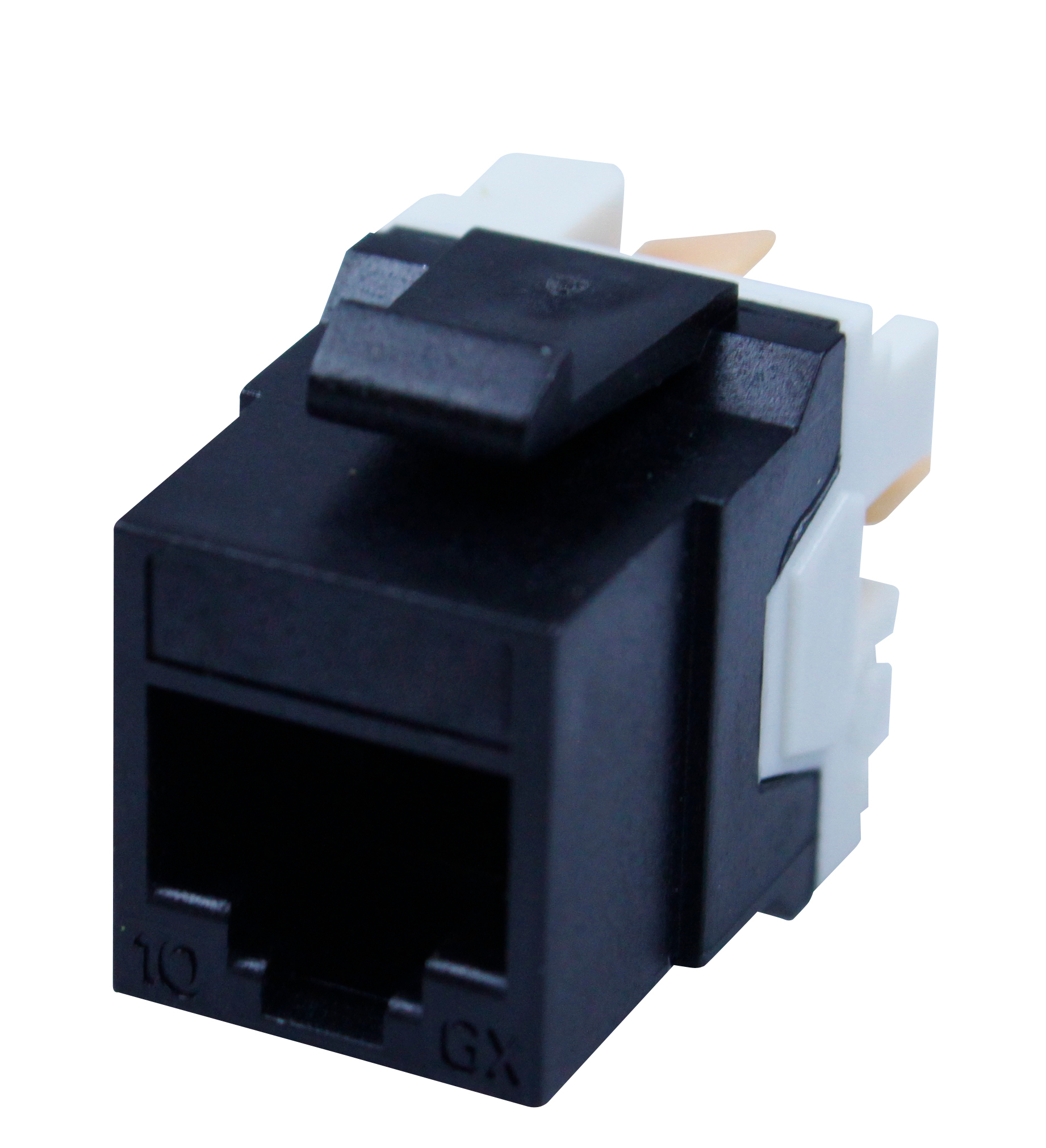 1 Stk IBDN LINE Buchse RJ45 ungeschirmt Cat.6A (SFA), schwarz HBIX102283